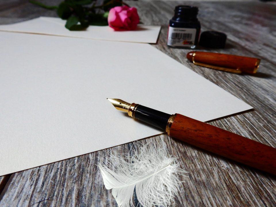 الكتابة وأنواعها