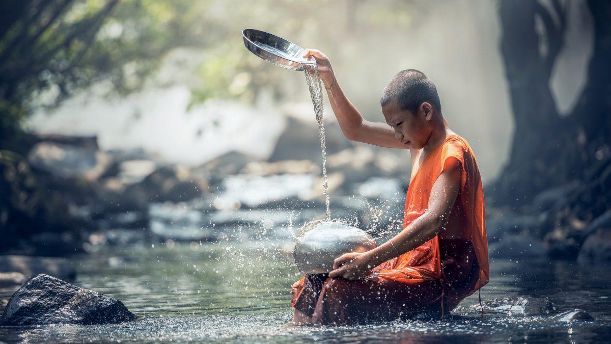 حول العالم - صوم البوذيين - مبادرة خفيفة